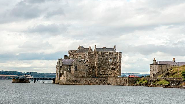 scottish castles Blackness