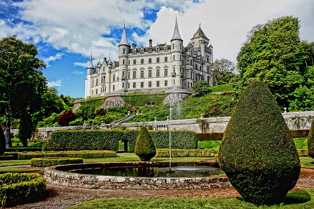 Dunrobin scottish castle